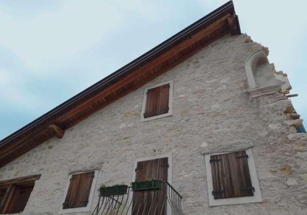 Chalet Brento in costruzione