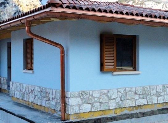 Casa in legno e pietra - Arco
